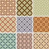 Testes padrões sem emenda abstratos Fotografia de Stock