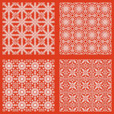 Testes padrões sem emenda abstratos do Natal Fotos de Stock