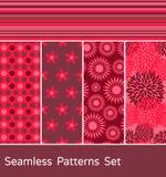 Testes padrões sem emenda ajustados Fotos de Stock