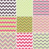 Testes padrões sem emenda coloridos da viga Foto de Stock Royalty Free