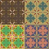 Testes padrões sem emenda com círculos Imagem de Stock