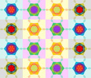 Testes padrões sem emenda com textura colorida Imagem de Stock Royalty Free