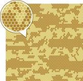 Testes padrões sem emenda da camuflagem de Digitas ilustração royalty free