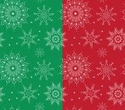 Testes padrões sem emenda do Natal Fotografia de Stock