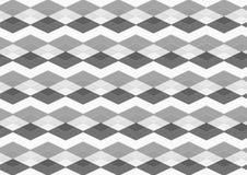 Testes padrões sem emenda do preto do diamante de Chevron, os cinzentos e os brancos Imagens de Stock Royalty Free