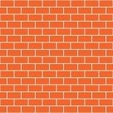 Testes padrões sem emenda do vetor da parede de tijolo Fotos de Stock