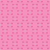 Testes padrões sem emenda do vetor retro Repetindo a textura Fotos de Stock Royalty Free