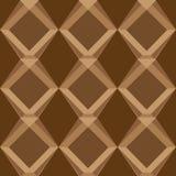Testes padrões sem emenda do vetor universal de Brown, telhando Ornamento geométricos Fotografia de Stock Royalty Free