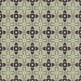 Testes padrões sem emenda do vetor universal do azul, telhando Ornamento geométricos Imagem de Stock