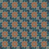 Testes padrões sem emenda do vetor universal do azul, telhando Ornamento geométricos Fotografia de Stock