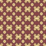 Testes padrões sem emenda do vetor universal do vermelho, telhando Ornamento geométricos Fotografia de Stock
