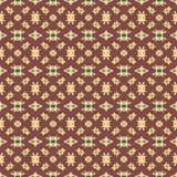 Testes padrões sem emenda do vetor universal do vermelho, telhando Ornamento geométricos Imagem de Stock