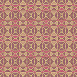 Testes padrões sem emenda do vetor universal do vermelho, telhando Ornamento geométricos Imagens de Stock