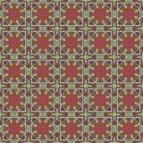Testes padrões sem emenda do vetor universal, telhando Ornamento geométricos Foto de Stock