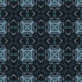 Testes padrões sem emenda do vetor universal verde, telhando Ornamento geométricos Foto de Stock