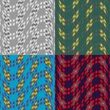 Testes padrões sem emenda dos quadrados Imagem de Stock