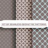 Testes padrões sem emenda geométricos Fotos de Stock Royalty Free