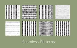 Testes padrões sem emenda pontilhados e precipitados ajustados Fotos de Stock