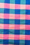 Testes padrões tecidos algodão Imagens de Stock Royalty Free