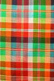 Testes padrões tecidos algodão Fotografia de Stock Royalty Free