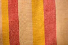 Testes padrões tecidos algodão Imagem de Stock
