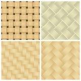 Testes padrões tecidos do fundo Imagem de Stock
