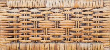 Testes padrões tecidos do rattan Imagem de Stock
