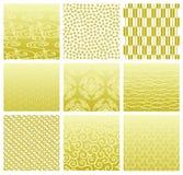 Testes padrões tradicionais japoneses Fotografia de Stock