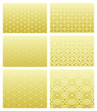 Testes padrões tradicionais japoneses Fotografia de Stock Royalty Free