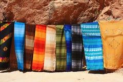 Testes padrões tradicionais marroquinos Fotografia de Stock Royalty Free
