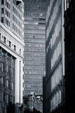 Testes padrões urbanos - Boston, EUA Fotografia de Stock