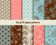 Testes padrões japoneses Imagem de Stock Royalty Free