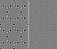 Testes padrões sem emenda dos elementos estrelados Fotos de Stock