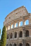 Testimoni gli eventi del passato, il teatro antico del Colos Fotografie Stock