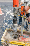 Testing for Compaction using Coring. Test Royalty Free Stock Photo