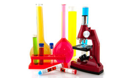 Testing in the laboratory Royalty Free Stock Images