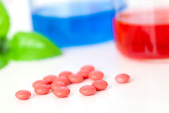 Testing New Medicines Royalty Free Stock Photography