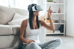 Testing new technologies. Stock Photos