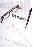 Testing Procedure Specification Report  or TPS Report Royalty Free Stock Image