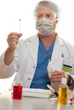 Testing for substances Stock Photo