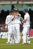3. Testmatchtag 2012 Englands V Südafrika 1 Lizenzfreies Stockbild