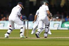 3. Testmatchtag 2012 Englands V Südafrika 1 Stockbilder