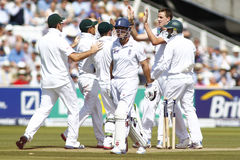 3. Testmatchtag 2012 Englands V Südafrika 2 Stockfotos
