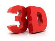 testo 3D Fotografia Stock