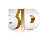 testo 3D Immagine Stock Libera da Diritti