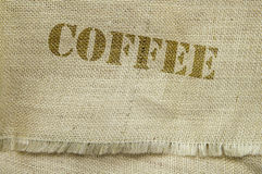 Testo del caffè immagini stock