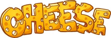Testo del formaggio royalty illustrazione gratis