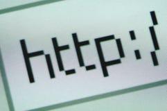 Testo del HTTP Immagini Stock Libere da Diritti