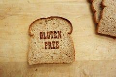 Testo del pane Fotografia Stock Libera da Diritti