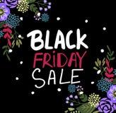 Testo di Black Friday per banne Illustrazione di Stock